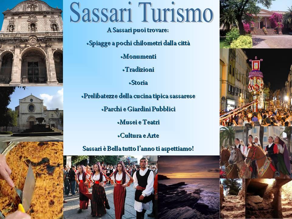 Sassari Turismo dal Portale Le Vie della Sardegna