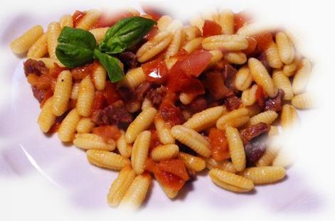 Malloreddus alla Campidanese ricetta originale.