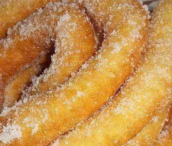 "Frittelle lunghe Sassaresi la ricetta originale, (li frisgiori longhi o ""sas frigjolas""). Dolce Tipico Sardo di Carnevale."