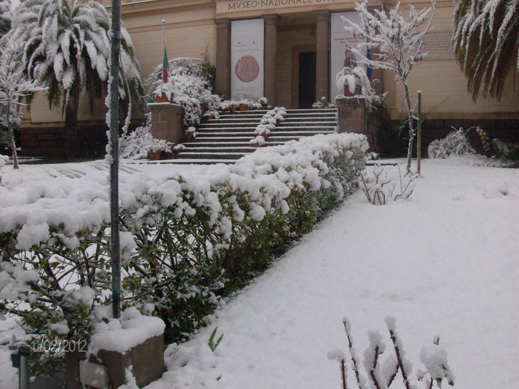 Museo Sanna sotto la neve - Sassari