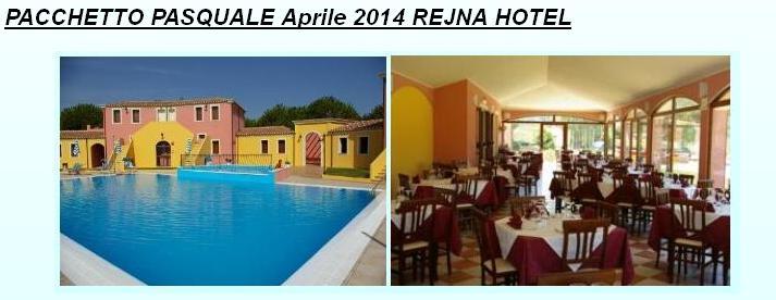 PACCHETTO PASQUALE Aprile 2014 REJNA HOTEL - Rejna Residence Hotel - 08040 - Cardedu (OG)