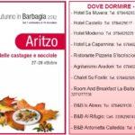 Aritzo Autunno in Barbagia 2012, si riaprono le Cortes ad Artizo sabato 27 ottobre e domenica 28 ottobre 2012, potrete partecipare negli stessi giorni alla Sagra delle Castagne e Nocciole.