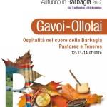 Autunno in Barbagia 2012: Gavoi-Ollolai Ospitalità nel cuore della Barbagia 12-13-14 ottobre, Tenores e Pastores.
