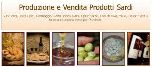 """Produzione e Vendita Prodotti Sardi dal Portale delle Aziende Sarde """"Spazio Aziende Le Vie della Sardegna""""."""
