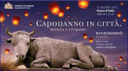 Capodanno 2012-2013 a Sassari