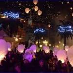Lancio di 1500 lanterne capodanno sassari