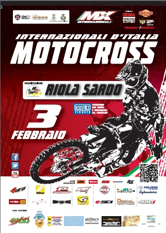 MOTOCROSS Internazionali d'Italia, Riola Sardo 3 Febbraio 2013, Sport in Sardegna