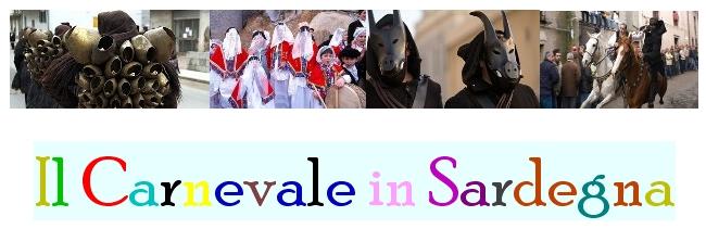 """il carnevale in sardegna dal Portale """"Le Vie della Sardegna""""."""