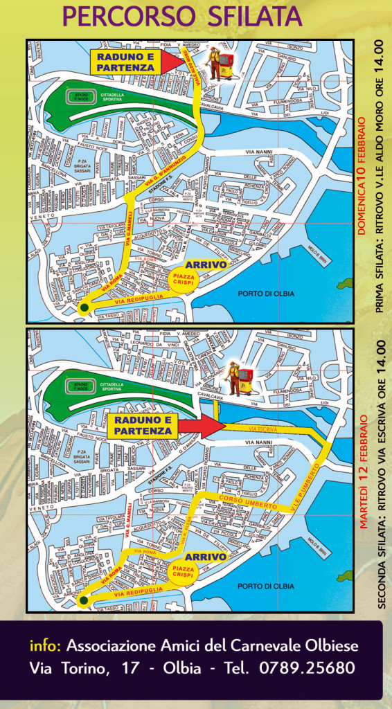 carrasegare olbia giovedi 7 febbraio 2013, Programma completo giovedì  7 Febbraio 2013 carrasegare Olbiesu