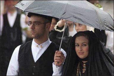 Cavalcata Sassari sotto la Pioggia 2012