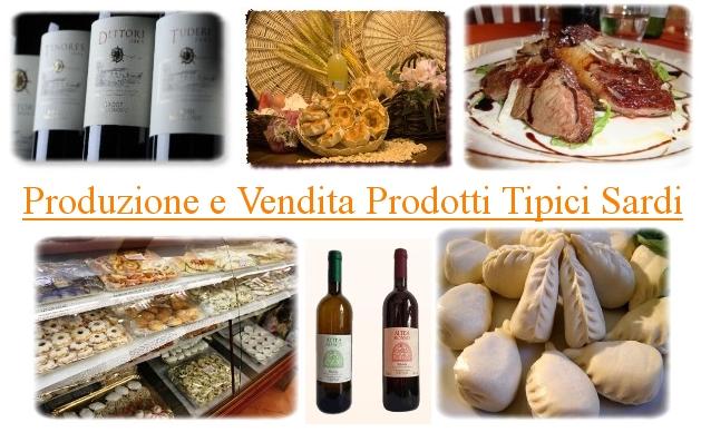 """Produzione e Vendita Prodotti Tipici Sardi, contatti diretti con chi li produce e li vende sul Portale """"Le Vie della Sardegna"""", la vetrina nel Web delle Aziende Sarde."""