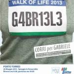 Walk of Life 2013 – Evento podistico per Telethon 26 Maggio a Porto Torres.