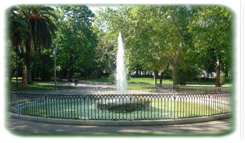 fontana dei giardini pubblici, viale itialia, sassari