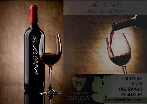"Vigneti Zicca un esempio di eccellenza vitivinicola sarda. Località ""Corru Trubutzu"" VILLAGRANDE STRISAILI (OG)."