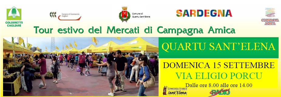 Toor Estivo di Campagna Amica, Quartu Sant'Elena, Domenica 15 settembre 2013, Coldiretti Sardegna.
