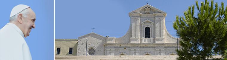 Papa Francesco a Cagliari