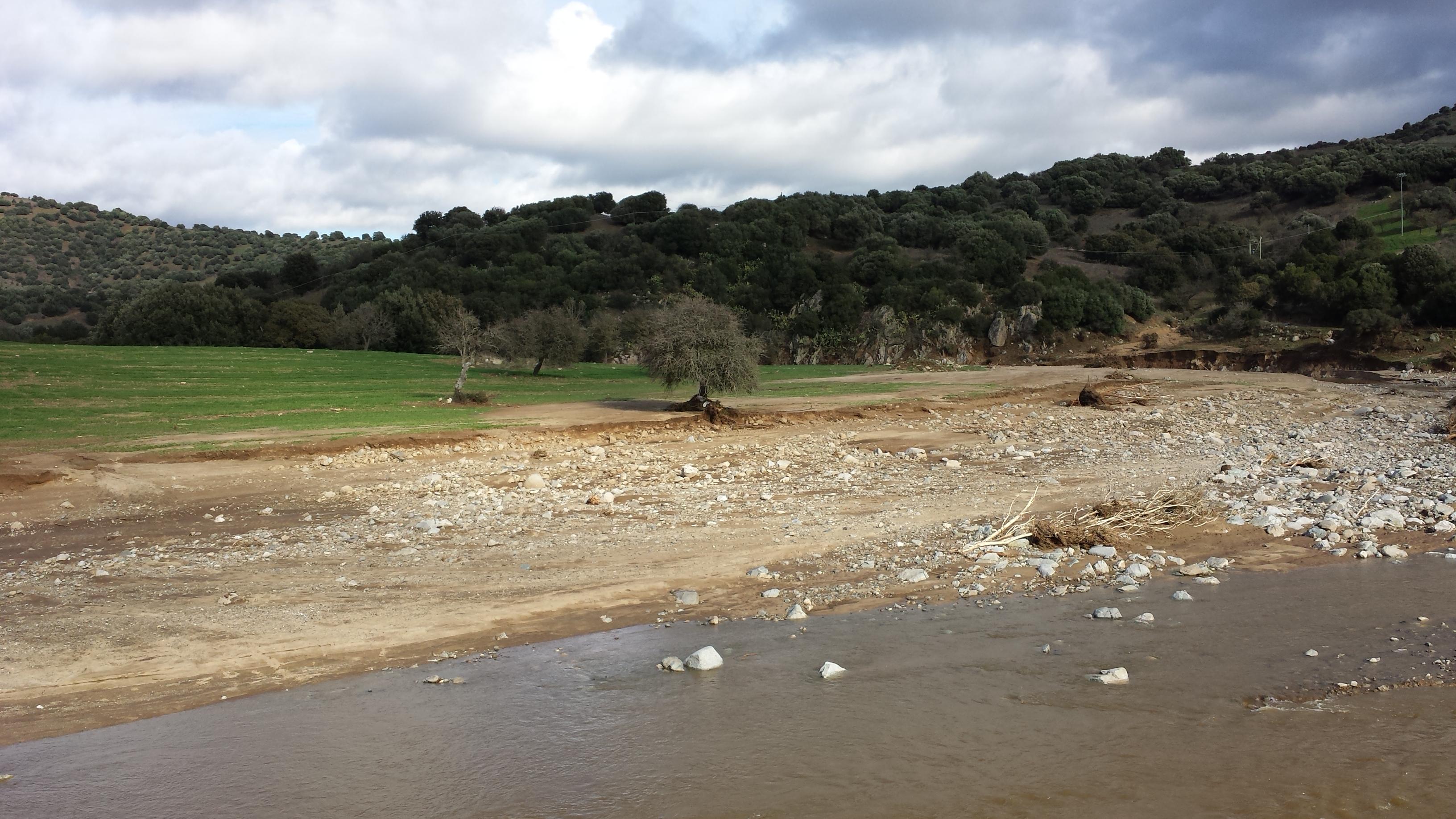 Sardegna ciclone cleopatra erbai cancellati