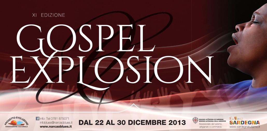 Gospel Explosion XI Edizione - Dicembre 2013 - Sinnai Associazione Narcao Blues