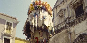 Prova generale della Faradda, i Candelieri di Sassari 14 agosto
