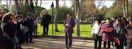 Sassari dedica il Parco di Via Venezia alla grande Maria Carta: Sabato 1 febbraio 2014 la Cerimonia, Parco Via Venezia entrata da Via Rizzeddu, Sassari (SS)