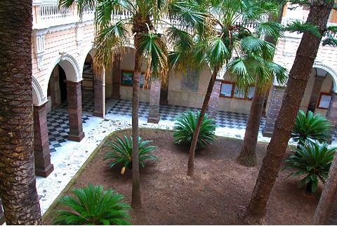 Chiostro dell'antica Università di Sassari