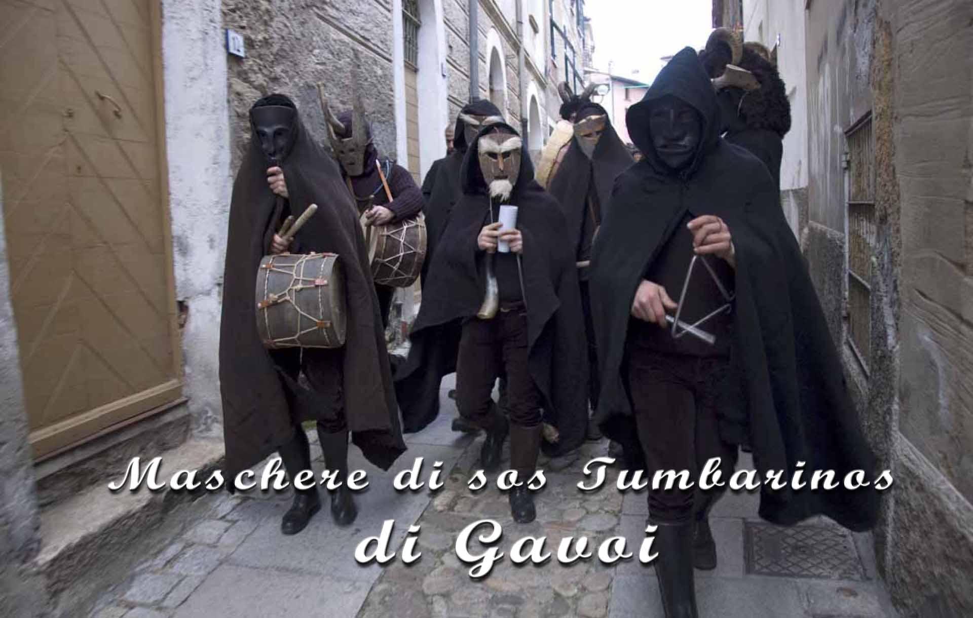 Maschere di sos Tumbarinos di Gavoi 2014