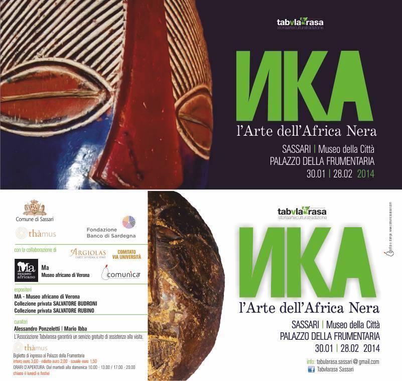 Mostre a Sassari 2014 - Nka – L'Arte dell'Africa Nera