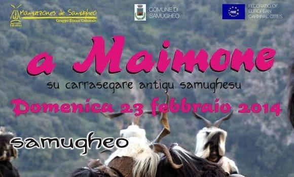 Samugheo Carnevale A Maimone 2014 e prima rassegna Eno-gastronomica Samugheo in vetrina