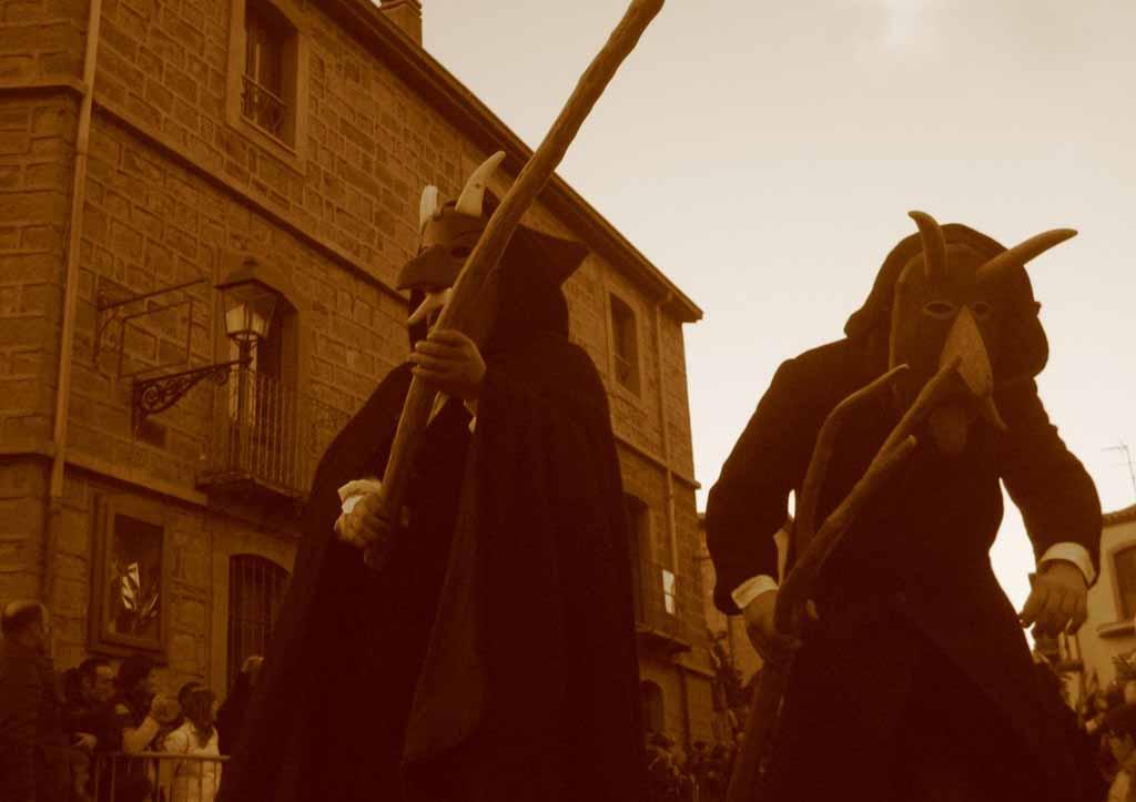 Samugheo, sfilata di carnevale sos Bundos di Orani