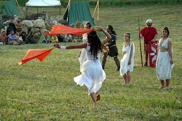 Parco di rievocazione storica Ad Signa Milites - Castrum Romano La Crucca Sassari - battaglia contro i celti