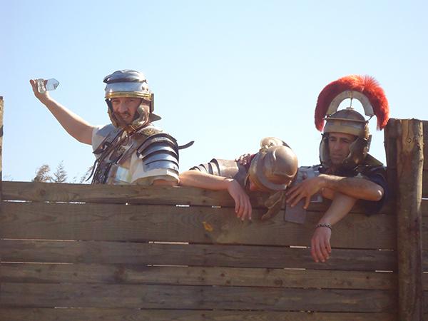 Castrum Romano La Crucca - Apertura 15 marzo 2014 - soldati romani
