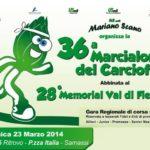 Comune di Samassi: 36^ MARCIALONGA DEL CARCIOFO abbinata al 28^ MEMORIAL GIOVANI VAL DI FIEMME