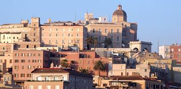 Cagliari scorcio del quartiere di Castello