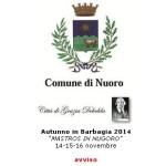 """Autunno in Barbagia 2014: Adesione alla manifestazione """"Mastros in Nùgoro""""."""