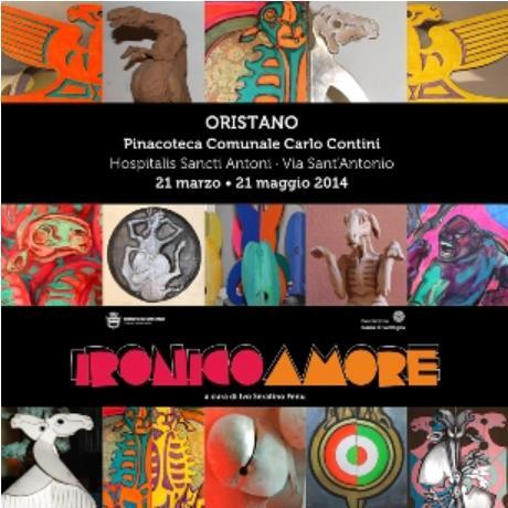 Ironico Amore – Dal 21 Marzo al 21 Maggio nella Pinacoteca Contini di Oristano un omaggio al pittore Antonio Amore