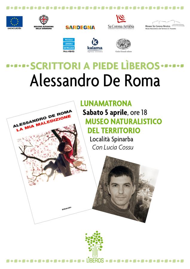 Locandina Alessandro De Roma