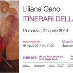 Il Comune di Samugheo e MURATS Museo Unico Regionale dell'Arte Tessile Sarda presentano ITINERARI DELLA PASSIONE Liliana Cano dal 15 marzo al 21 aprile 2014