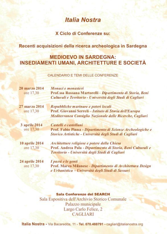 x ciclo conferenze 2014