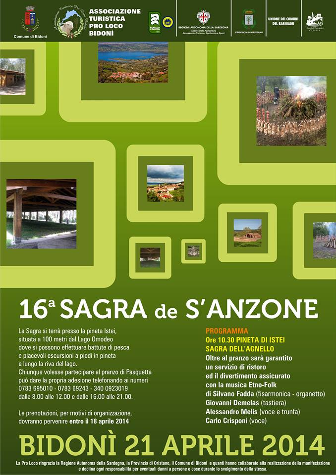 16 Sagra de S'Anzone Bidoni (OR) 21 Aprile 2014