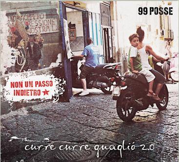 25 aprile 2014 a Sassari concerto ai Giardini Pubblici viale Italia dei 99 Posse Band Napoletana