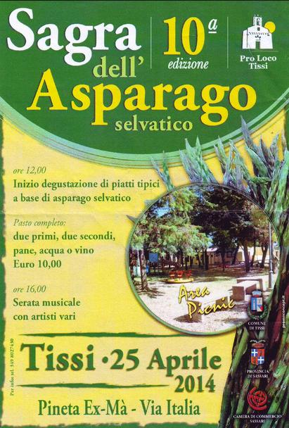 25 aprile 2014 a Tissi alla Sagra dell'Asparago Selvatico