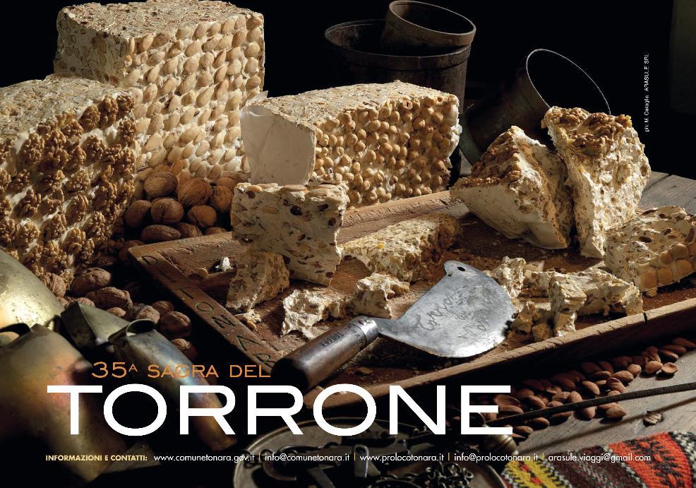 35^ Sagra del Torrone a Tonara 21 aprile 2014