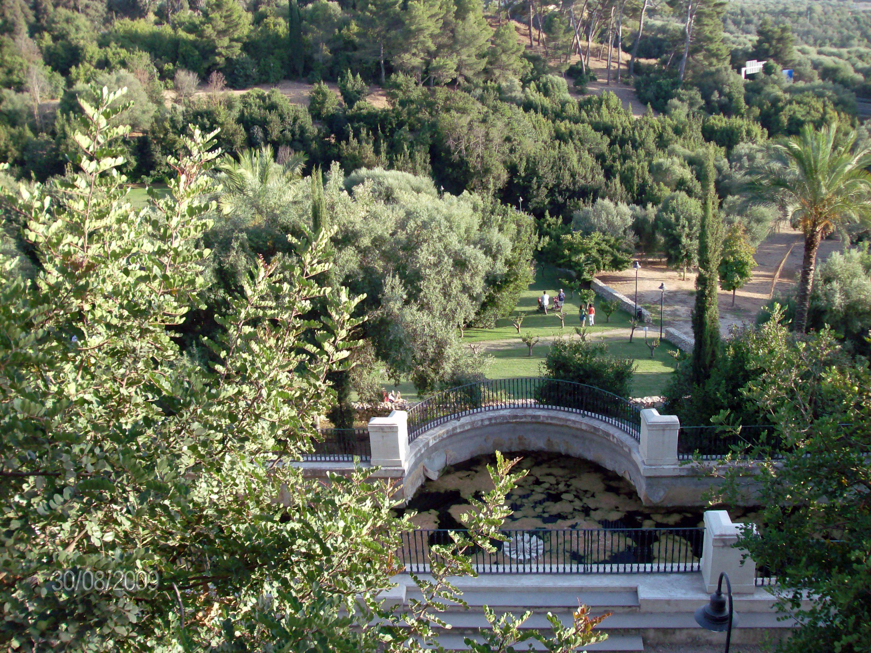 Parco di Monserrato Il più grande polmone verde di Sassari.