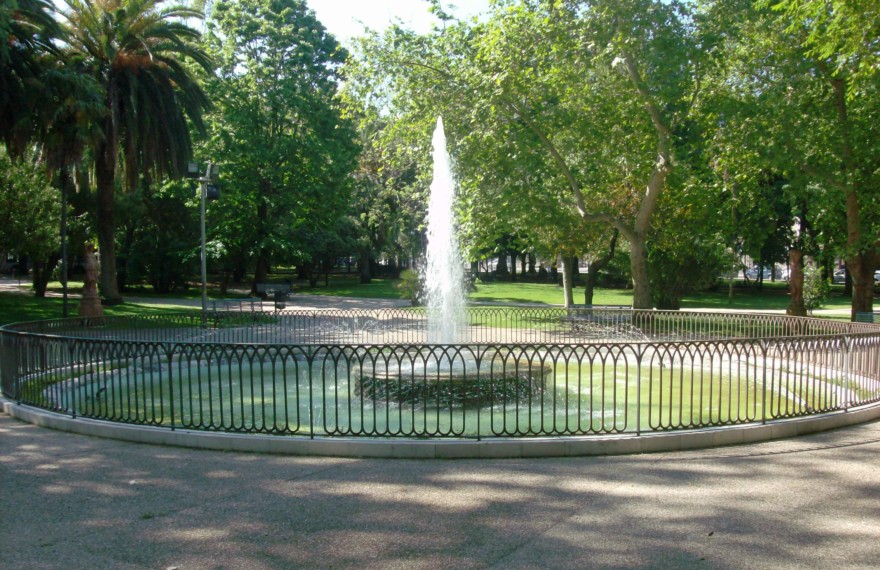 Giardini Pubblici Sassari Viale Italia Fontana