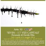 """Museo Sa Corona Arrubia: Arte52 """"SEVEN – I 7 vizi capitali"""" Personale di Davide Pilia dal 4 aprile al 4 maggio 2014"""
