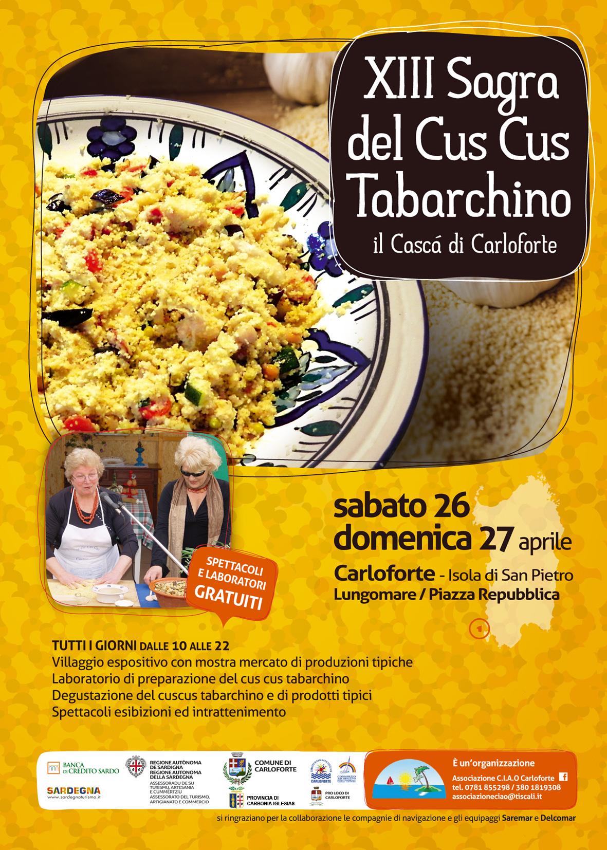 Locandina Sagra Cus Cus 2014 Carloforte