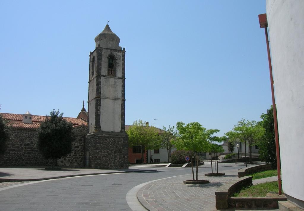 Norbello chiesa dei Santi Giulitta e Quirico