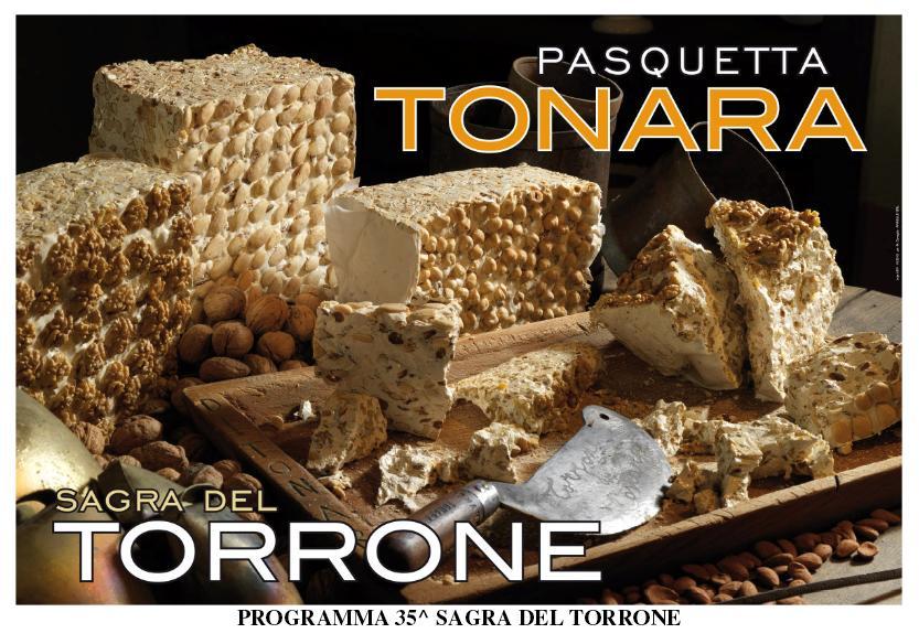 Pasquetta a Tonara dal 17 al 21 aprile 2014 35^ Sagra del Torrone