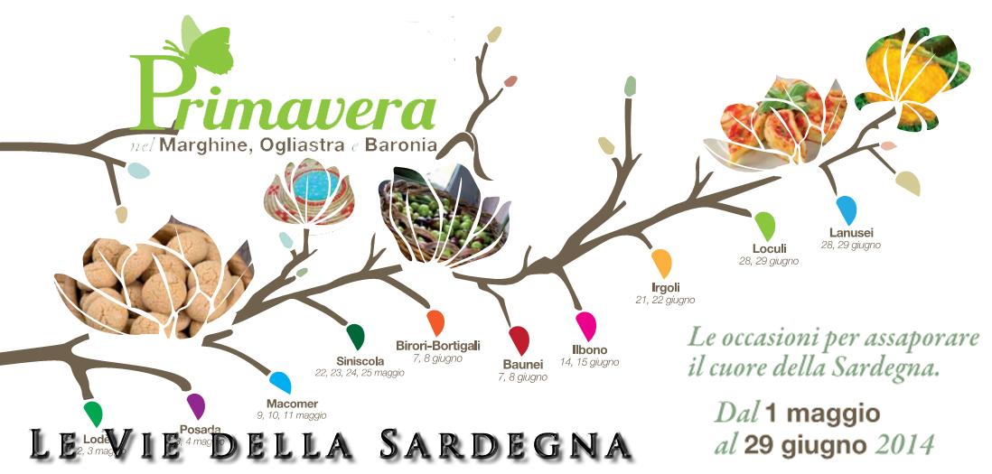 Privamera Marghine Ogliastra e Baronia 2014- comuni aderenti leviedellasardegna