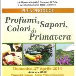 """'Pula Produce' Domenica 27 Aprile 2014 """"Profumi Sapori Colori di Primavera""""."""